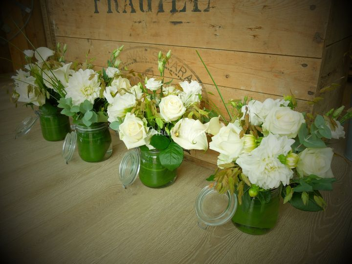 Bouquet centres de tables
