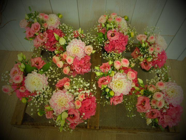 Bouquet centres de tables