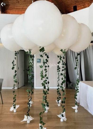 Ballon flottant