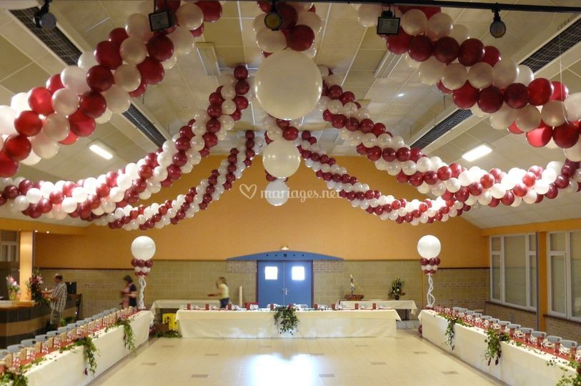 Harmonie 39 s day - Decoration mariage ballon ...