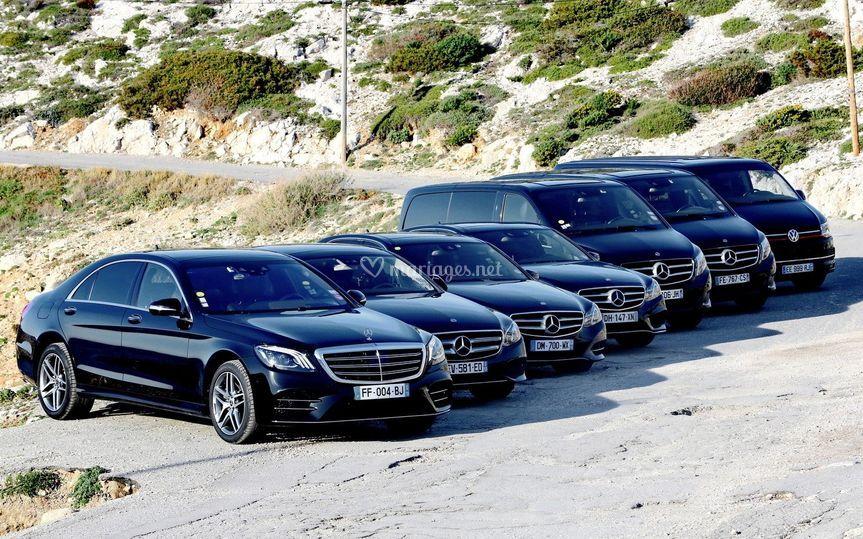 Notre gamme de véhicules S/E/V