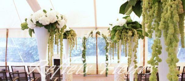 Reflets fleurs for Decoration ceremonie