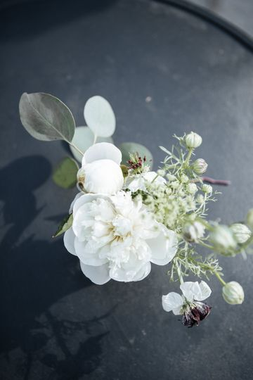Fiole de fleurs