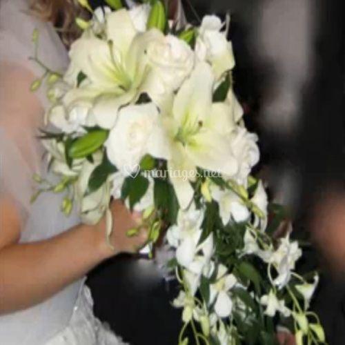 Bouquet à chute