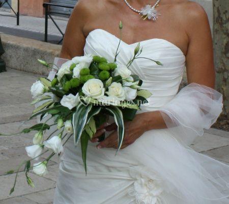 Bouquet a chute