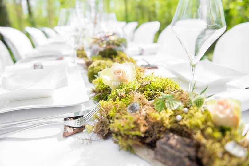"""Deco tables """"forêt enchantée"""""""