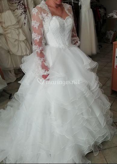 Creation unique robe de mariée