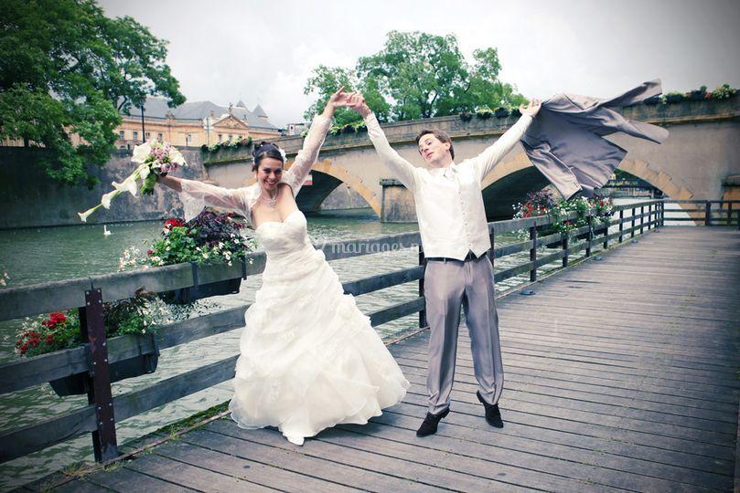 Portrait fun de couple