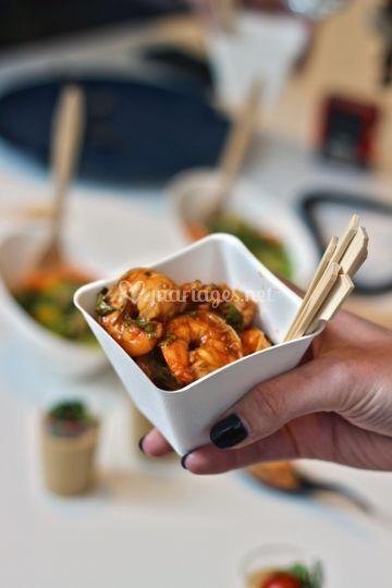 Crevette asiatique
