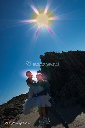 Portée de la mariée