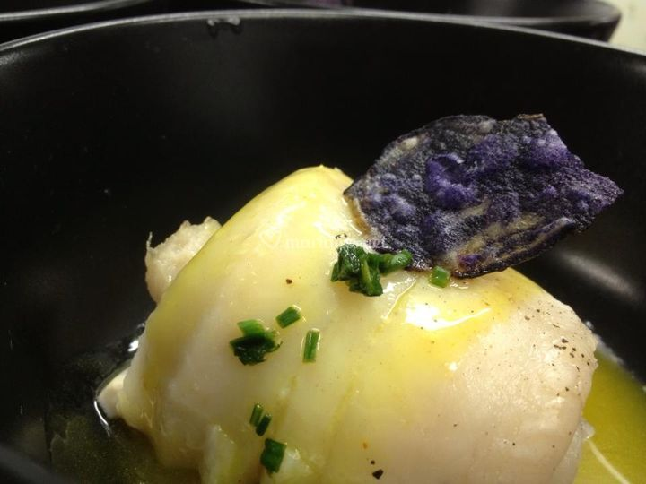Filet de sole sauce safran