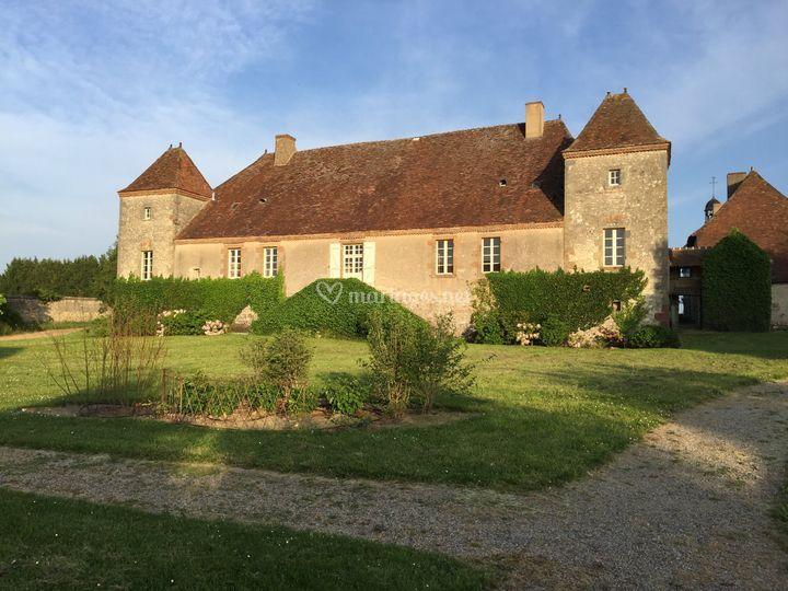 Cour arrière du Château