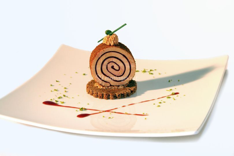 Foie gras griottes