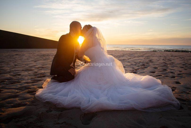 Séance Couple En bord de mer