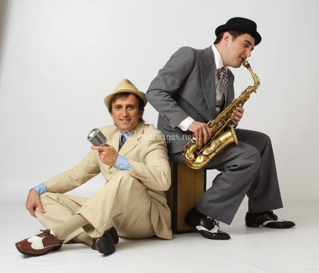 Saxophone et style vintage