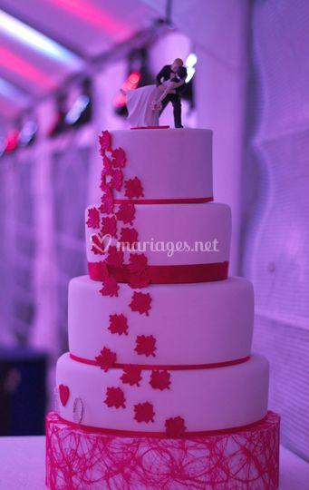 Gâteau de mariage 2