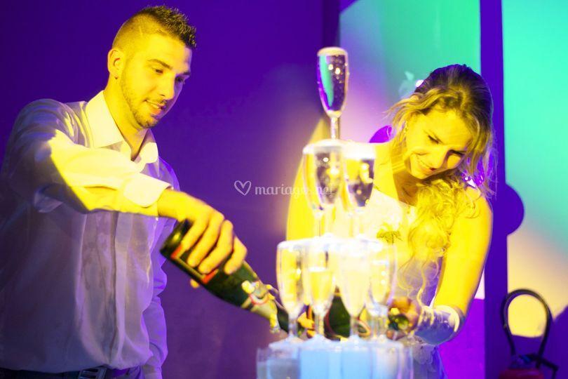 Fontaine de champagne 2