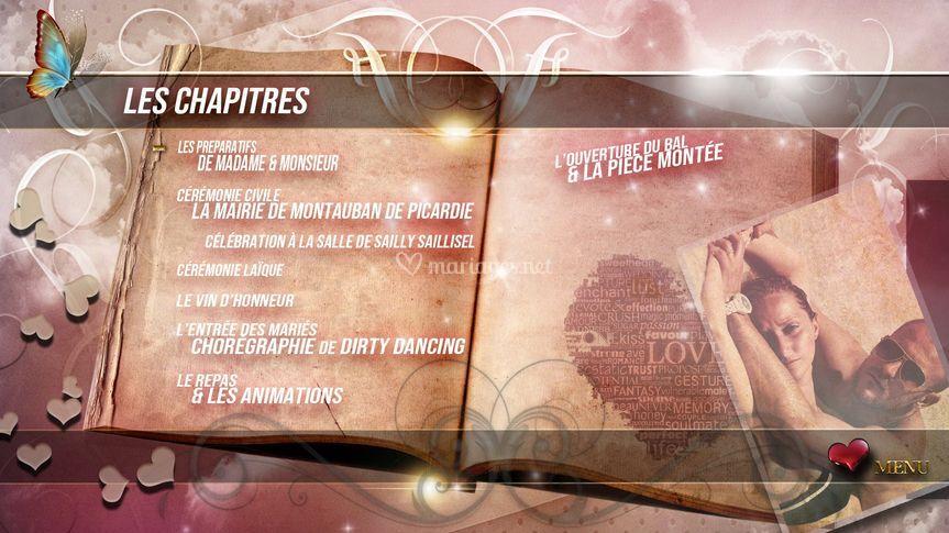 Chapitres DVD