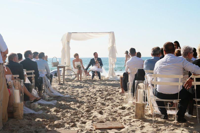 Mariage sur la plage