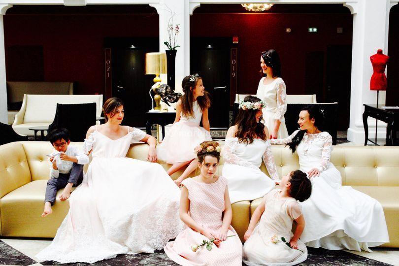 Collection JOY mariée sur mesu