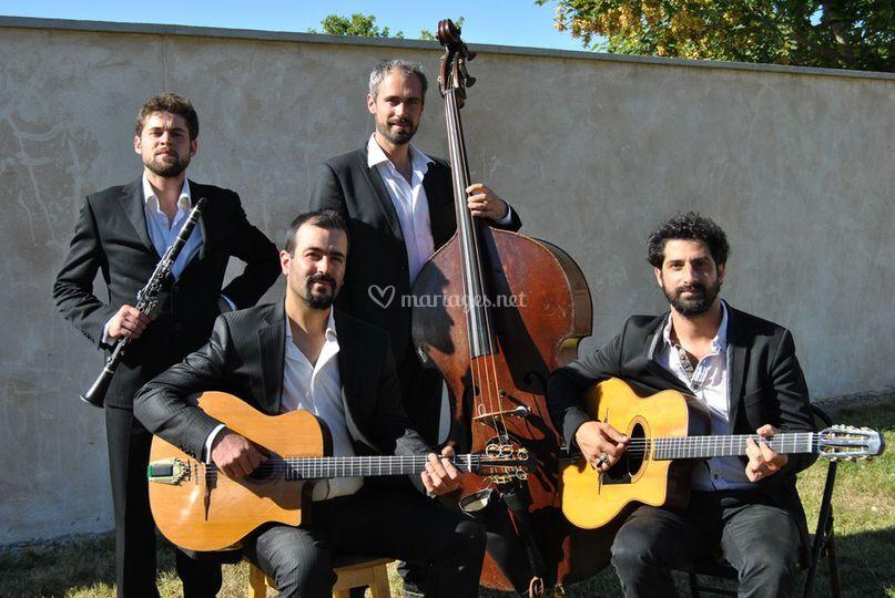 Quartet Guitares Clarinette
