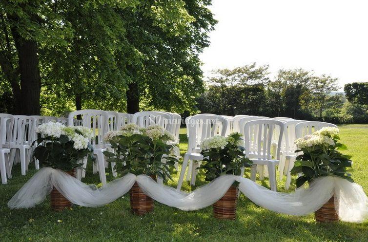 Votre mariage dans le jardin