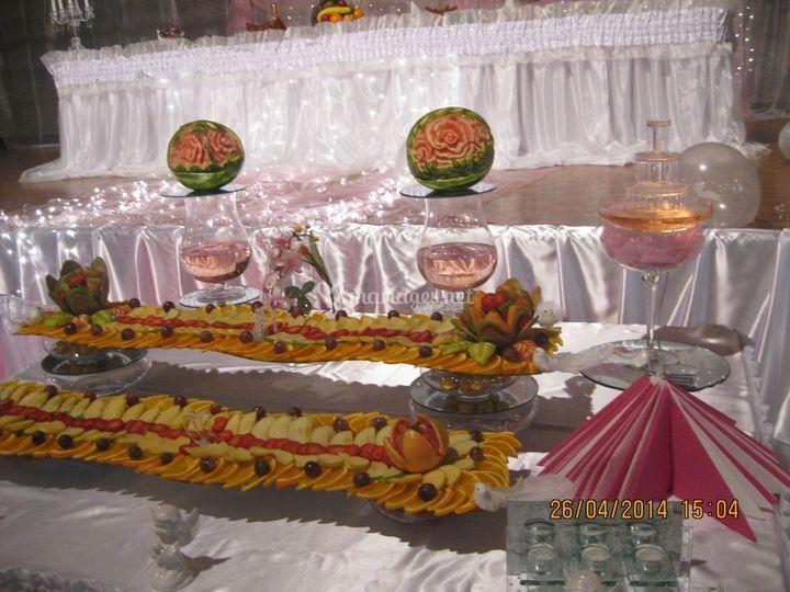 Spécial décoration en fruits