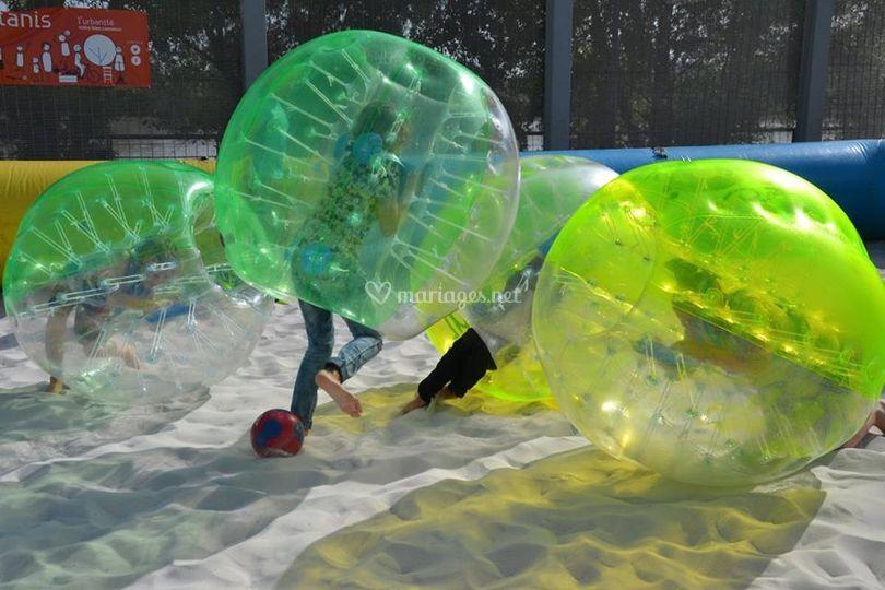 Bubbles foot