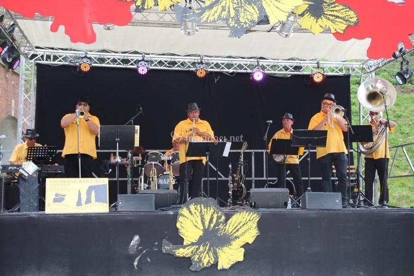 Louisiane And Caux Jazz Band