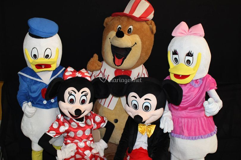 Mascottes Disney