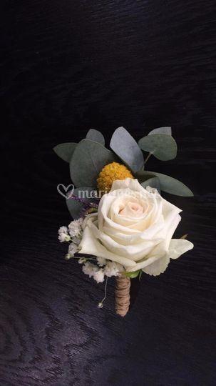 Accessoire homme fleurs