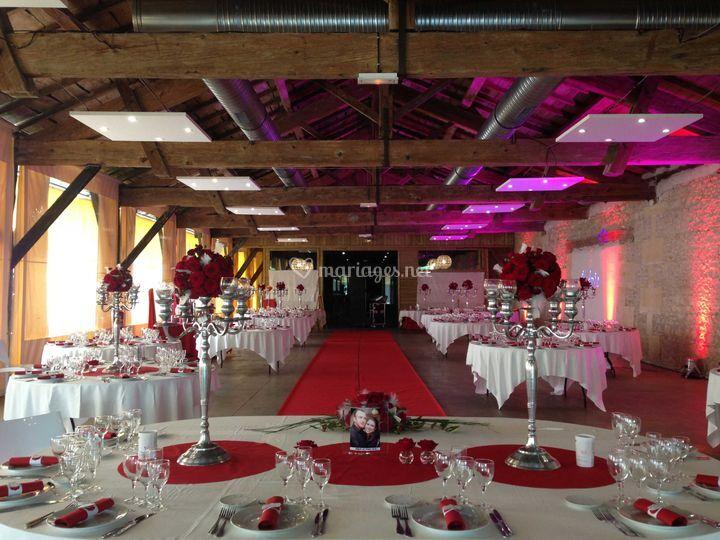 Mariage salle Solençon