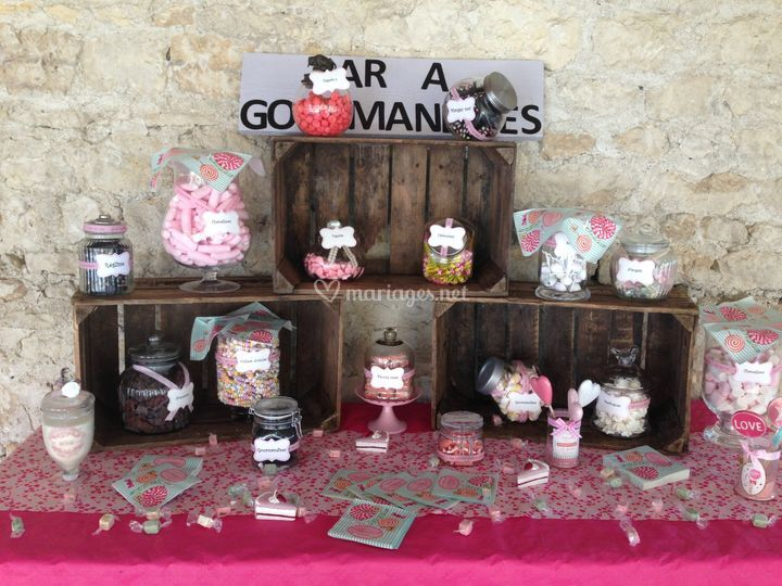 Stand a bonbons