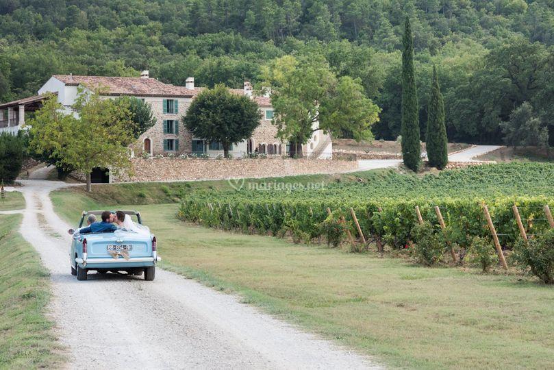 Château Maime - Arrivée