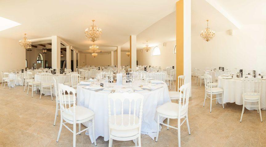Salle du château Maïme