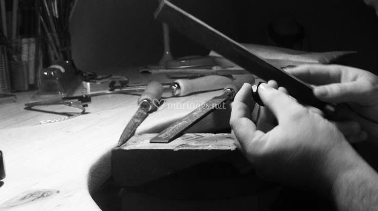 Bijoux créés à la main