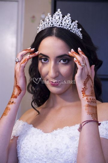 Le regard de la mariée