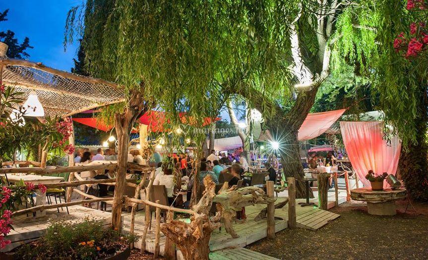 Terrasse du bas de c t jardin photos - Restaurant cote jardin lac 2 ...