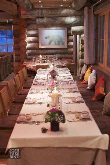 Table préparée