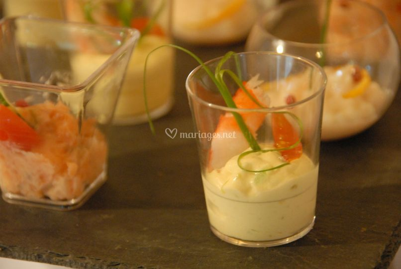 Crevettes en cocktail