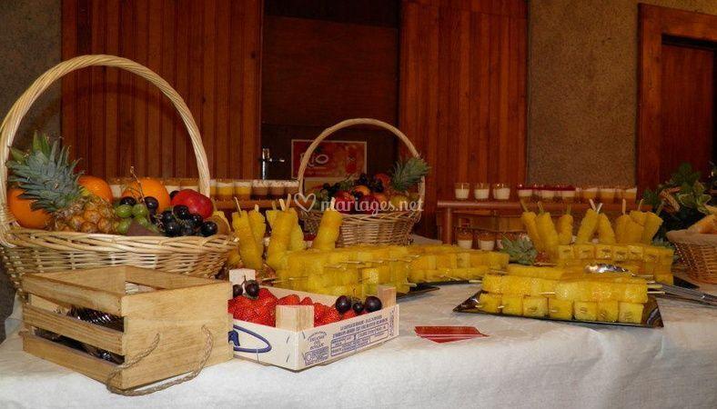Des fruits délicieux