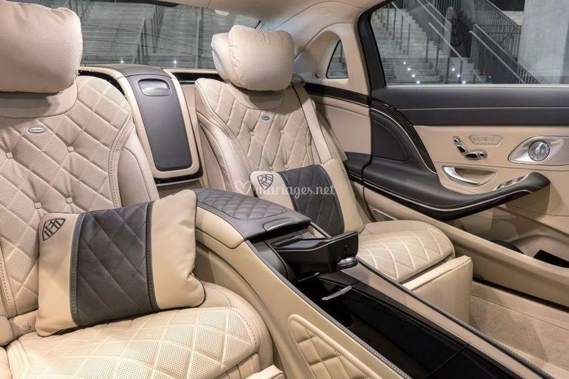 Mercedes Maybach intérieur