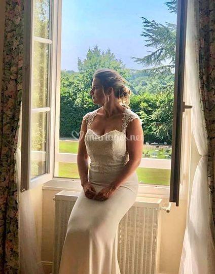 Mise en beauté mariée