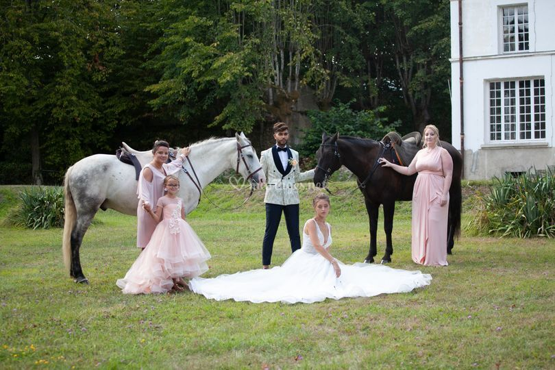 Les mariés & les temoins