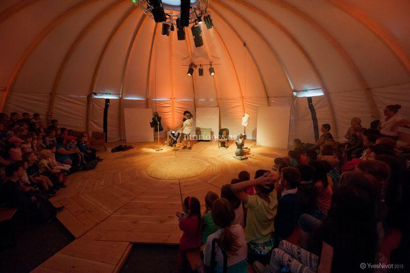 Dôme intérieur