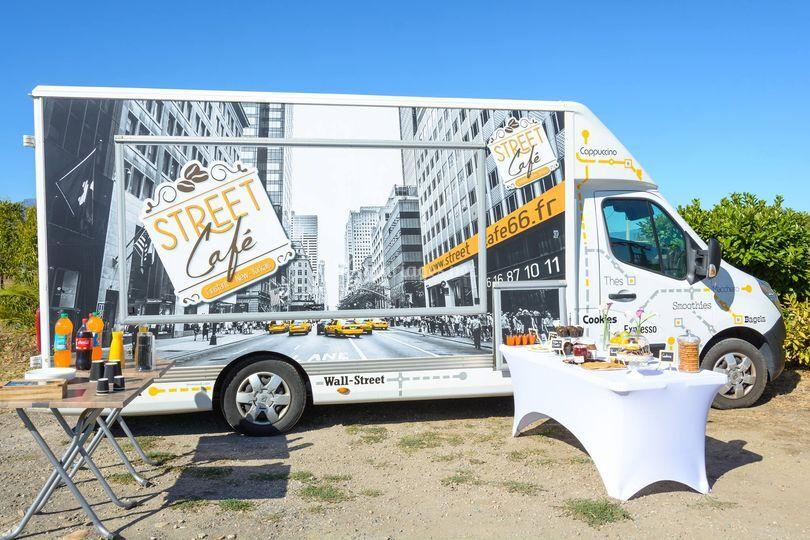 Le Food truck sur Street Café