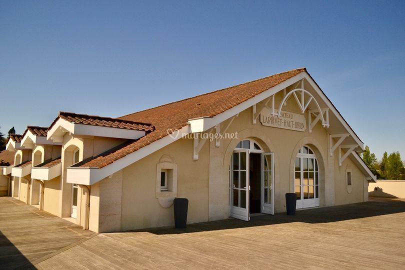 Terrasse Salle des Vignes