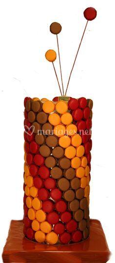 Colonne de macarons