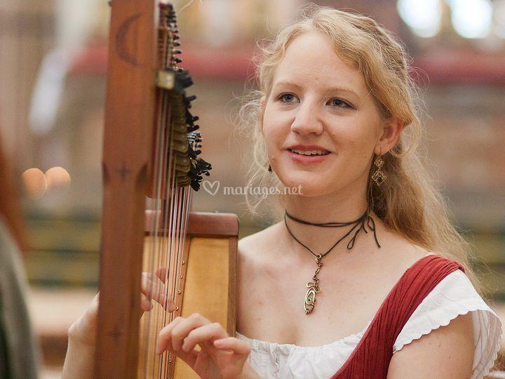 Ela - Harpe Celtique - Cornemuse
