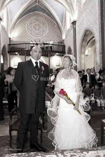 Sandrine De Brito Mariage